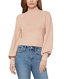 Cropped Bell-Sleeve Sweater