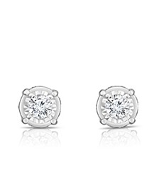 Diamond (1 1/4 ct. t.w.) Stud Earrings in 14k White Gold