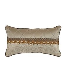 "Alexander 22"" x 12"" Boudoir Decorative Pillow"
