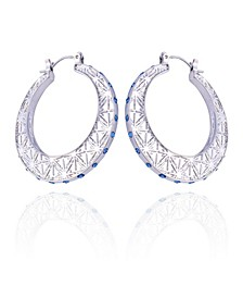 Extra Celestial Hoop Earrings