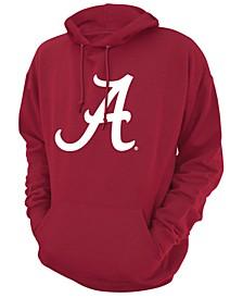 Men's Alabama Crimson Tide Screenprint Big Logo Hooded Sweatshirt