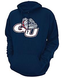 Men's Gonzaga Bulldogs Screenprint Big Logo Hooded Sweatshirt