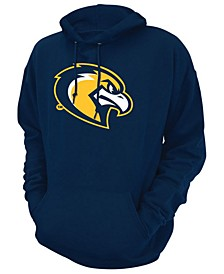 Men's Marquette Golden Eagles Screenprint Big Logo Hooded Sweatshirt