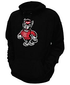 Men's North Carolina State Wolfpack Screenprint Big Logo Hooded Sweatshirt