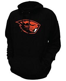 Men's Oregon State Beavers Screenprint Big Logo Hooded Sweatshirt