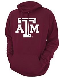 Men's Texas A&M Aggies Screenprint Big Logo Hooded Sweatshirt