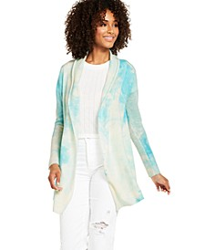 Tie-Dye Cashmere Cardigan, Created for Macy's