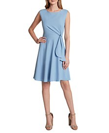 Side-Tie Shift Dress