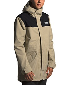 Men's City Breeze DWR Rain Parka Jacket