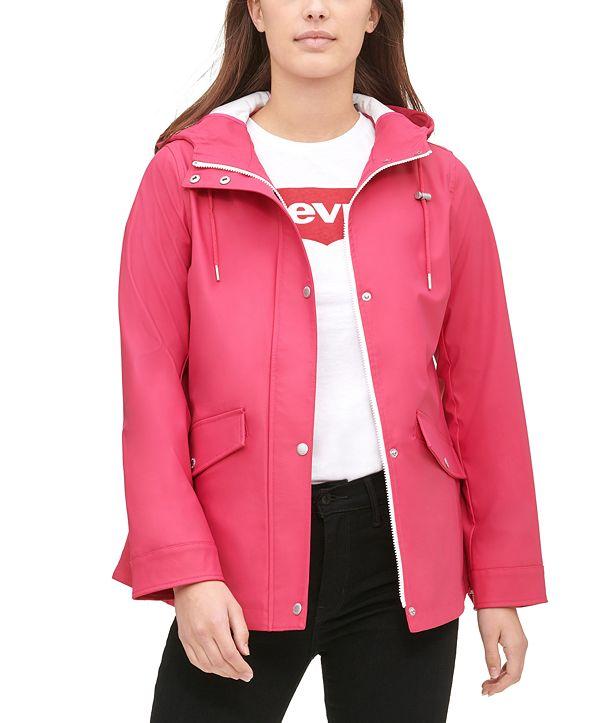 Levi's Hooded Raincoat