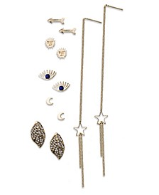 Celestial, Evil Eye Studs and Linear Sets