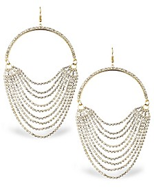 Accessories Exaggerated Stone Swag Statement Earring