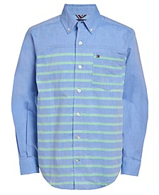 Little Boys Rob Stripe Shirt