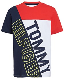 Big Boys Jermaine Colorblocked Logo T-Shirt