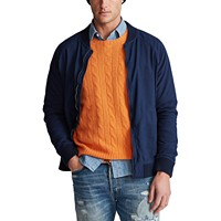 Polo Ralph Lauren Men's Bomber Jacket (Newport Navy)