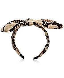 Shayla Snake Skin Headband