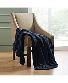 Wrinkle Resistant Plush Fleece Blanket, Throw