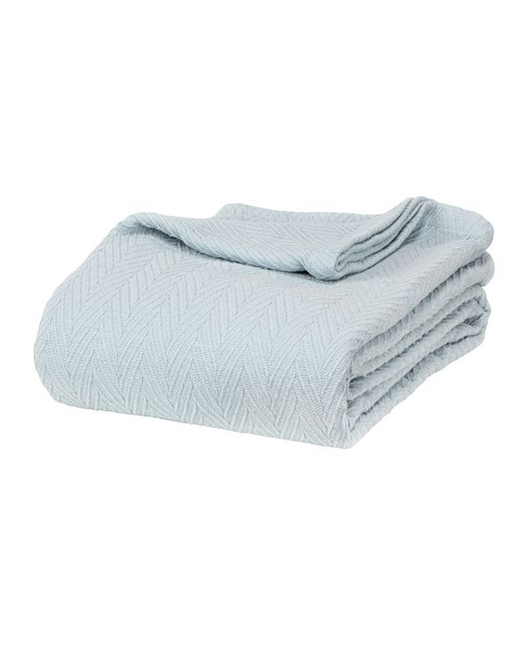 Superior Chevron Woven All Season Blanket, King