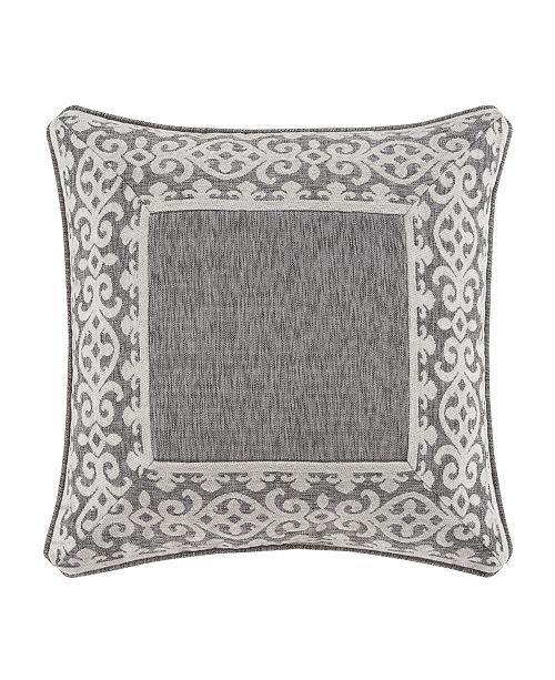 """J Queen New York J Queen Giselle  20"""" Square Decorative Throw Pillow"""