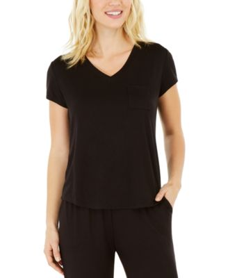Essentials Ultra-Soft Knit Pajama Top, Created for Macy's