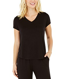 Super-Soft Knit Pajama Top, Created for Macy's