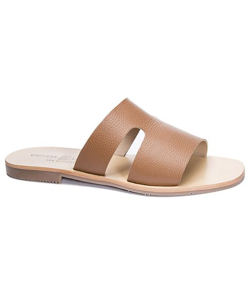Chinese Laundry Mannie Flat Slide Sandals