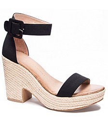 Queen Wedge Sandals