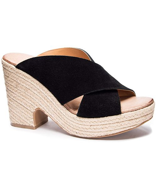 Chinese Laundry Quay Wedge Mules