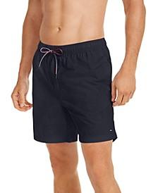Men's Solid Swim Trunks