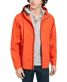 Men's All-Season Lightweight Hooded Rain Jacket