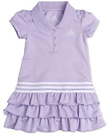 Baby Girls Tiered Ruffle Polo Dress