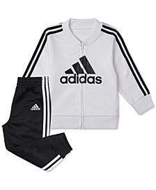 Baby Boys 2-Pc. Tricot Jacket & Jogger Pants Set