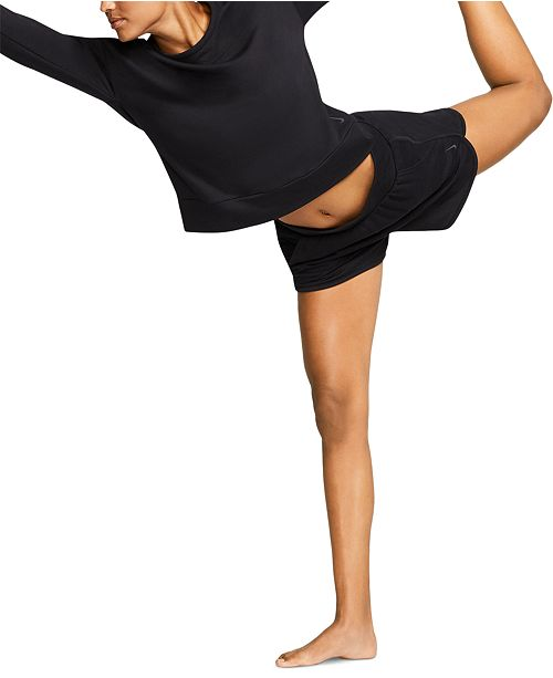 Nike Yoga Women's Wrap-Back Top