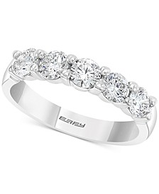 EFFY® Diamond Anniversary Band (1 ct. t.w.) in 14k White Gold