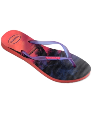 Havaianas Slim Paisage Flip-Flop Sandals Women's Shoes
