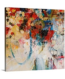 "16 in. x 16 in. ""Bouquet Toss"" by  Jodi Maas Canvas Wall Art"