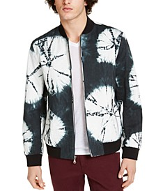 INC Men's Lockfield Tie-Dye Jacket, Created for Macy's