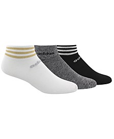 3-Pk. 3-Stripe Low-Cut Women's Socks