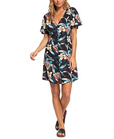 Juniors' Damage Love Floral-Print Dress