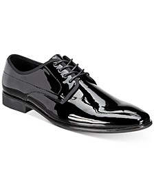 INC Men's Dorodo Patent Leather Oxfords, Created for Macy's