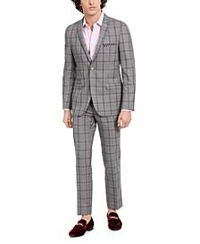 Downing Slim-Fit Plaid Jacket & Dress Pants