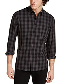 Men's Rama Check Shirt, Created for Macy's