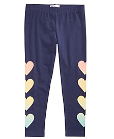 Toddler Girls Rainbow Heart Leggings, Created for Macy's