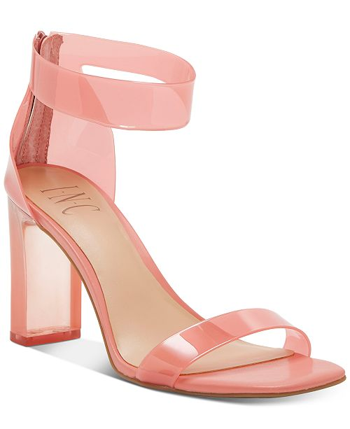 INC International Concepts INC Women's Makenna Two-Piece Dress Sandals, Created for Macy's