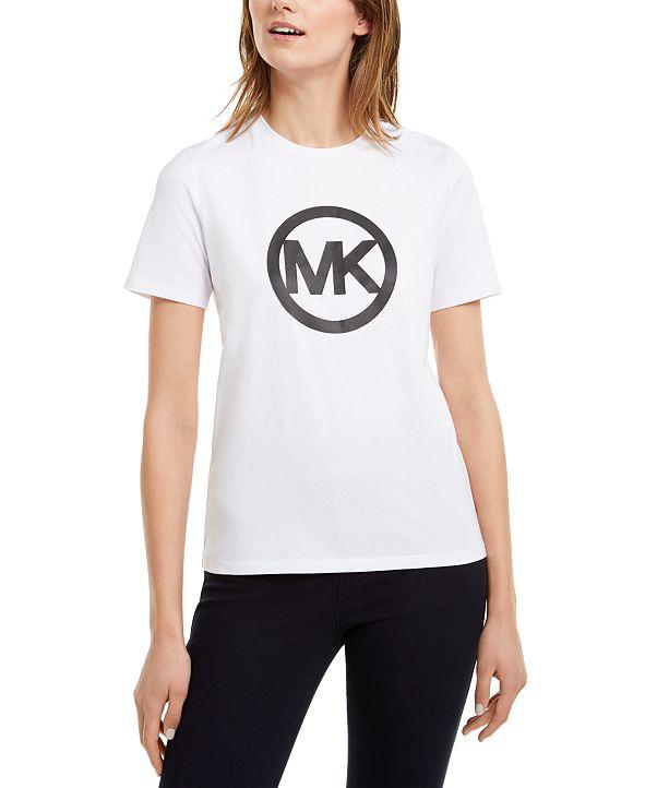 Michael Kors Cotton Logo T-Shirt, Regular & Petite Sizes