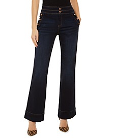 INC Petite Sailor Trouser Jeans, Created for Macy's