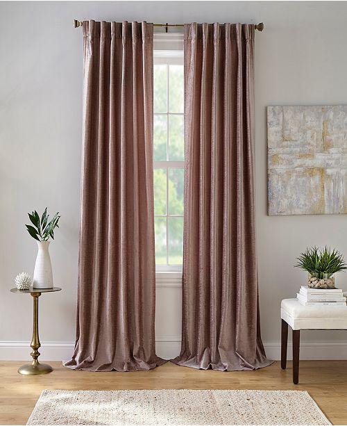 """Elrene Carnaby 50"""" x 95"""" Distressed Velvet Curtain Panel"""