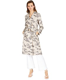 INC Toile Trench Coat, V-Neck Top & Sailor Trousers, Created for Macy's