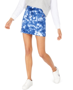 Tommy Hilfiger SPORT TIE-DYE MINI SKIRT, CREATED FOR MACY'S