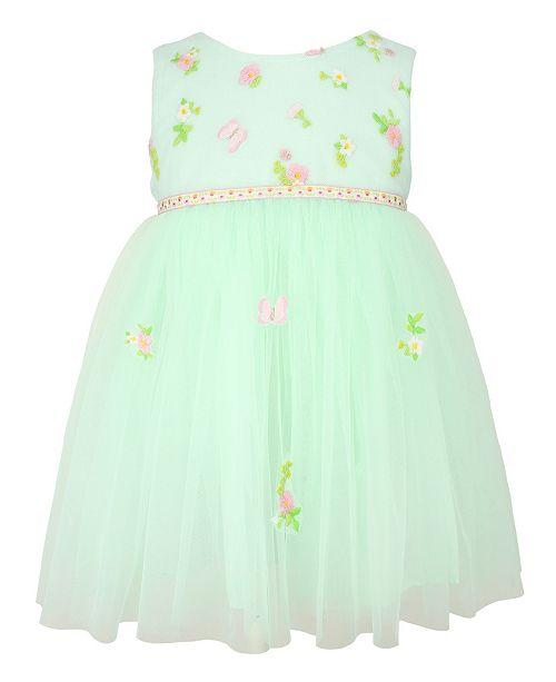 Popatu Baby Girl Flower Dress